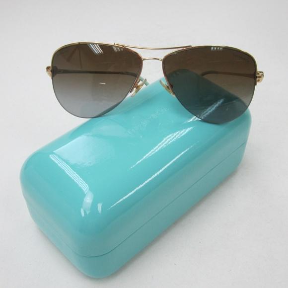 3cc01cc8b06 Tiffany   Co. Accessories - Tiffany Co. TF3021 Aviator Sunglasses  Italy OLM147